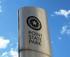 Point State Park Sign